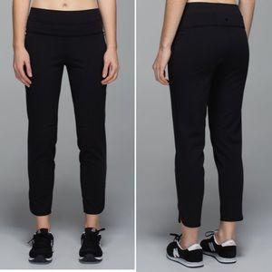 Lululemon Black Straight to Class Pants